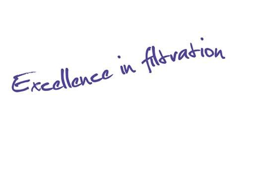 Excellence in filtration