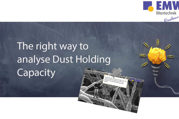 Clip about Dust Holding Capacity