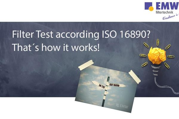 Filter Test according ISO 16890